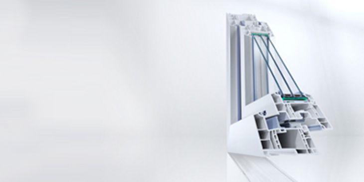 REHAU Profilo PVC GENEO®  certificato per case passive  Il profilo GENEO® marca REHAU® è disponibile in una variante di prodotto certificata